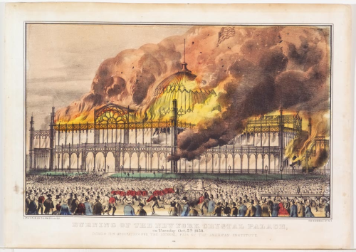 Burning-of-the-new-york-crystal-palace-on-tuesday-oct-5th-1858-by-currier-ives
